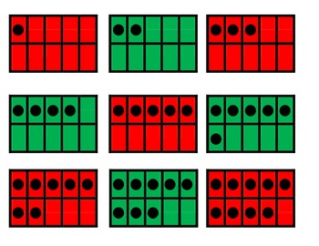Christams Tree Math - Subtracting within 20 Game for Common Core