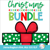 Christmas MEGA  Bundle: Elementary Materials for Speech Therapy
