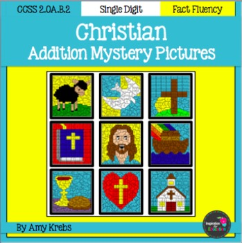 Christian Addition Mystery Pictures
