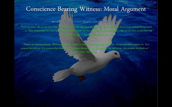 Christian Apologetics - The Moral Argument