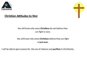 Christian Attitudes to War