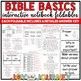 Christian Bible Basics Interactive Notebook Foldables