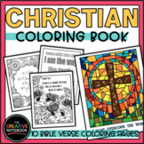 Christian Bible Verse Coloring Pages | Adult Coloring Pages for Middle and High