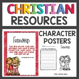 Christian Character Posters