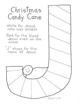 Christian Christmas Candy Cane