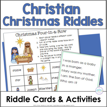 Christian Christmas Riddles