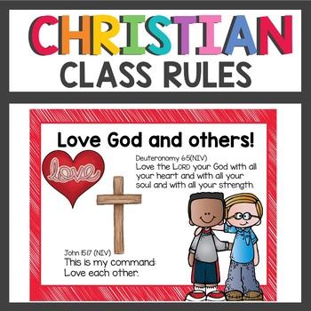 Christian Class Rules