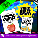 Christian Classroom Decor (Bible Verse Posters)