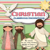 Christian Classroom Decorations MEGA bundle-Editable!