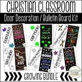 Christian Classroom Door Decor Kit/Christian Bulletin Boar