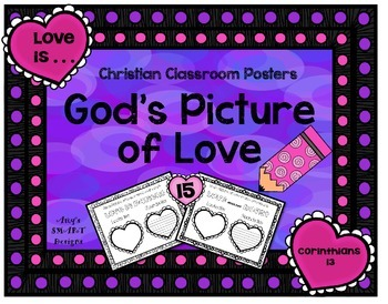 Christian Classroom Posters: God's Picture of Love
