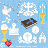 Christian Clipart, Holy Communion Elements, Easter {Best Teacher Tools} AMB-1916