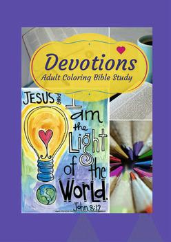 Christian Coloring Bible Study: Devotions