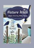 Christian Coloring Bible Study: Nature Walk
