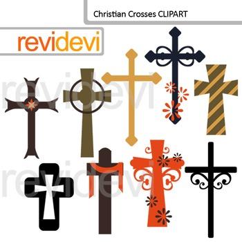 Christian Crosses Clip art
