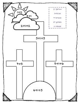 {Christian} Easter Activity Mini Pack