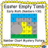 Christian Easter Tomb Early Math (Numbers 1-30) Number Chart Mystery Picture