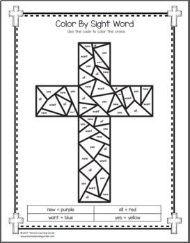 christian easter worksheets for kindergarten and first grade tpt. Black Bedroom Furniture Sets. Home Design Ideas