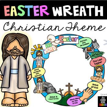 Christian Easter Wreath
