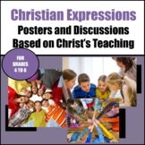 Christian Expressions with Poster and Discussion Cards