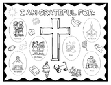 Christian Grateful Placemat/Poster for Thanksgiving