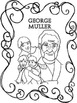 Christian Heroes Then and Now, George Muller Lapbook