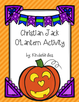Christian Jack O'Lantern Activity