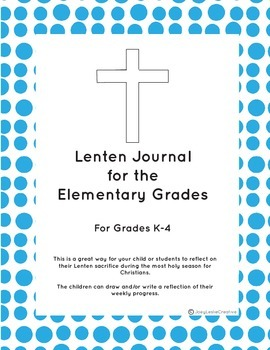 Christian Lenten Journal
