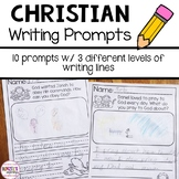 Christian Leveled Writing Prompts