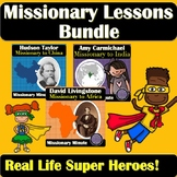 Christian Missionaries Bundle | Real Life Superheroes to Inspire Your Students