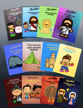 Christian Monthly Writing Journals