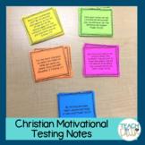 Christian Motivational Testing Notes