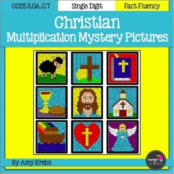 Christian Multiplication Mystery Pictures