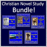 Christian Novel Study Bundle with Biblical References - Printable AND Paperless!