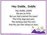 Christian Nursery Rhymes Full Page Version