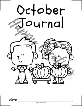 Christian October Writing Journal