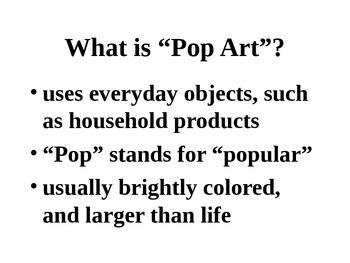 Christian Pop Art Power Point