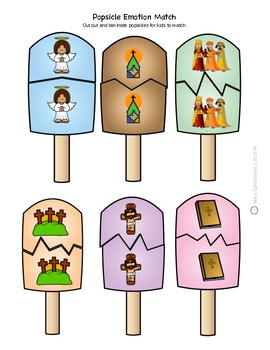 Sunday School: Christian Popsicle Match