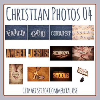 Christian / Religious Photos 6 - Photograph Clip Art Set Commercial Use