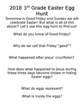 Christian School Easter Egg Hunt Adventure