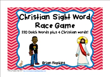 Christian Sight Word Race