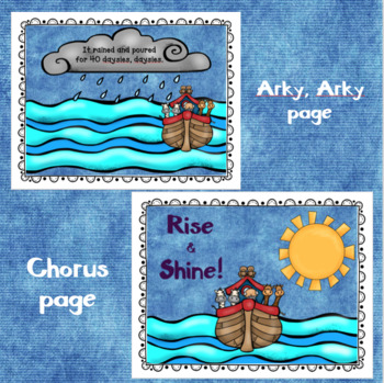 "Christian Song Books for ""If I Were a Butterfly"" and ""Arky Arky"" , with ASL"