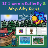 "CHRISTIAN SONGBOOKS for ""If I Were a Butterfly"" and ""Arky Arky"" , with ASL"