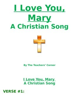 Christian Song: I Love You, Mary