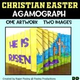 Christian-Themed Easter Agamograph Art Activity