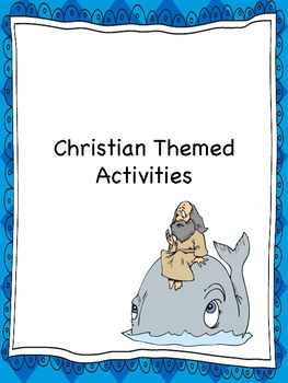 Christian Themed Holiday Activities