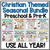 Christian Themed Seasonal Growing Bundle for Preschool & Pre-K