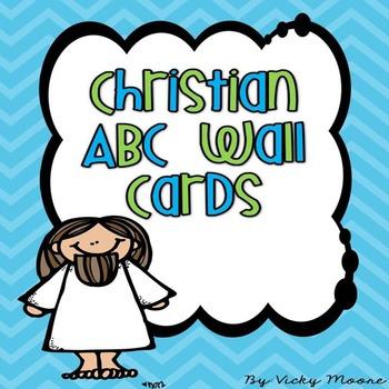 Christian Wall Alphabet