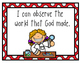 Christian Worldview Science I Can Statements