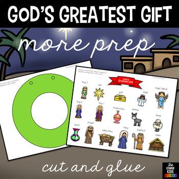 Christian Wreath - God's Greatest Gift